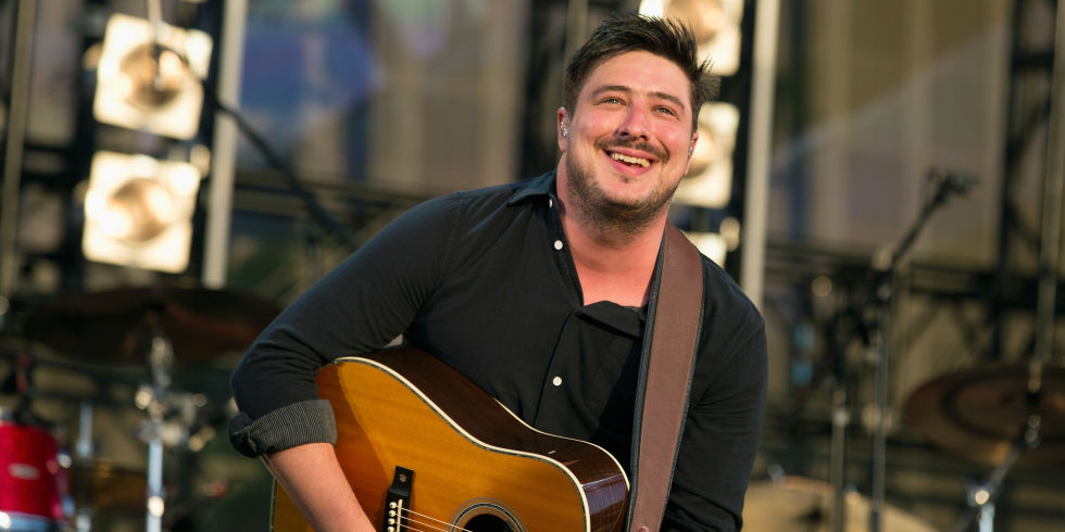Mumford   Sons wow Hyde Park crowd with triumphant homecoming show     Marcus Mumford of Mumford   Sons at British Summer Time 2016