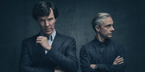 Sherlock and John are back in moody Sherlock series 4 first-look