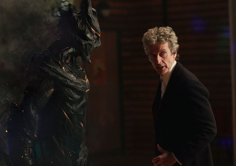 Class: The Doctor (Peter Capaldi) meets Corikinus (Paul Marc Davis)