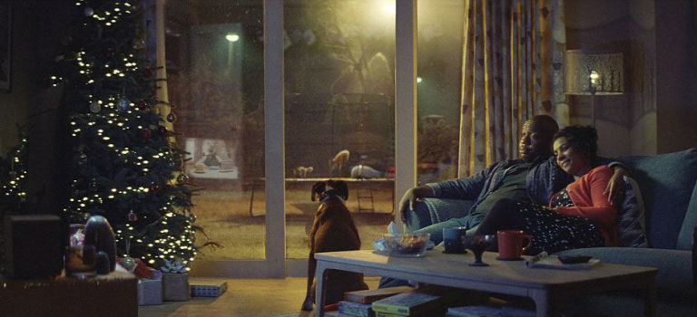 John Lewis Christmas advert 2016, Buster the boxer