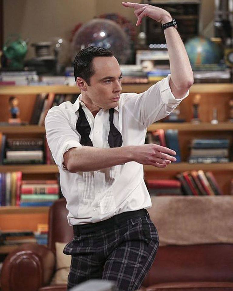 Jim Parsons as Sheldon in 'The Big Bang Theory'