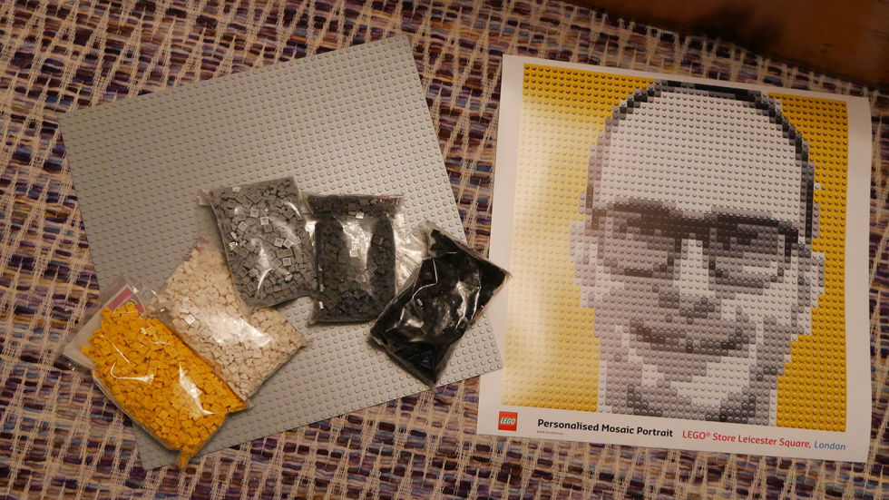 You can now make yourself out of LEGO and it s AMAZING  Here s how     You can now make yourself out of LEGO and it s AMAZING  Here s how the LEGO  Mosaic Maker works