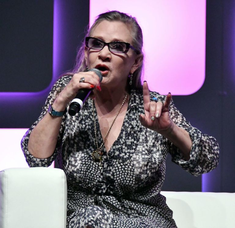 Carrie Fisher at Star Wars Celebration