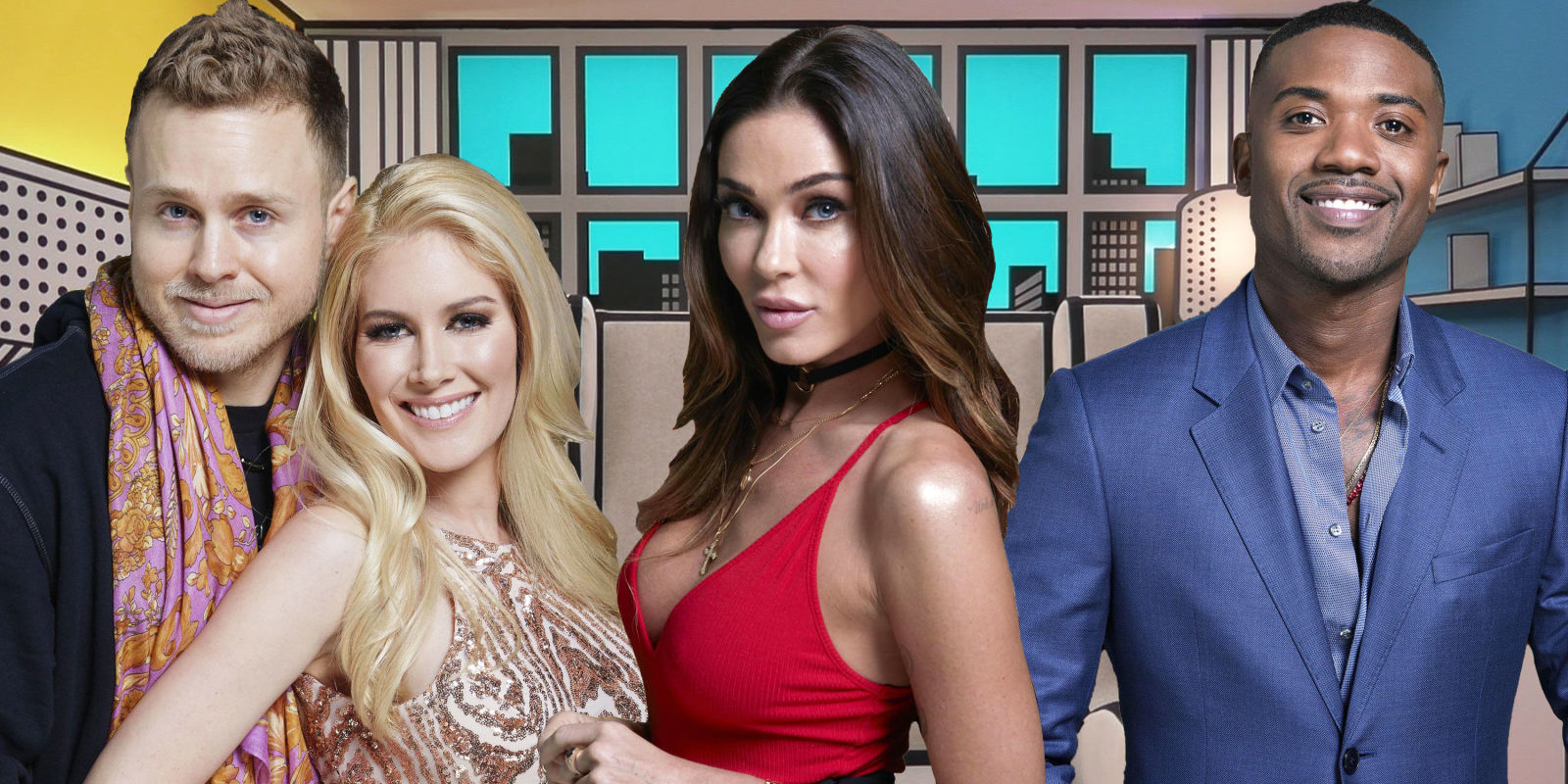 Celebrity Big Brother Cast And Housemates Rumours