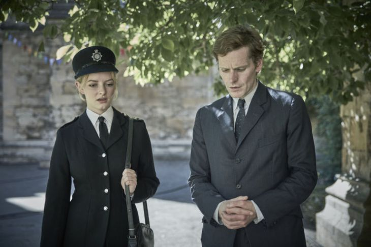 WPC Shirley Trewlove (Dakota Blue Richards) in ITV's 'Endeavour'