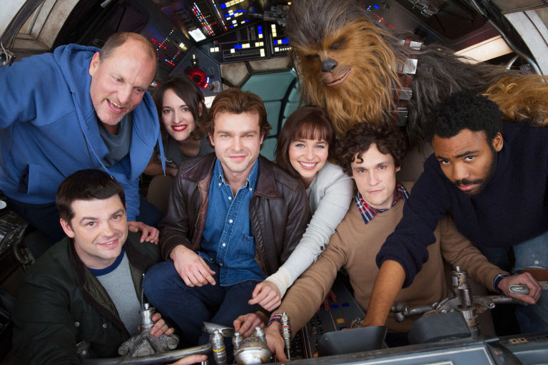 Image result for han solo cast photo