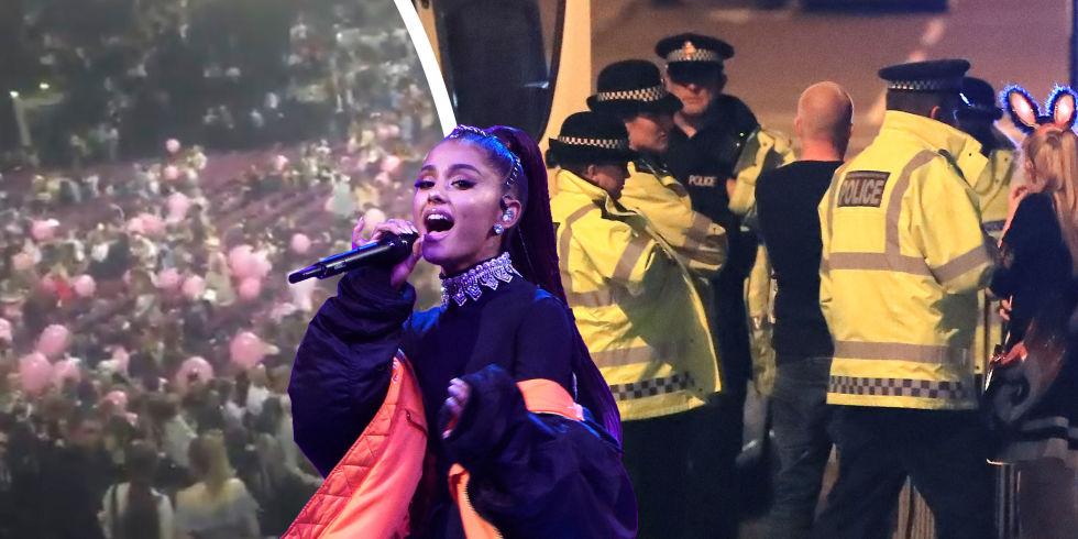 Afbeeldingsresultaat voor ariana grande manchester attack