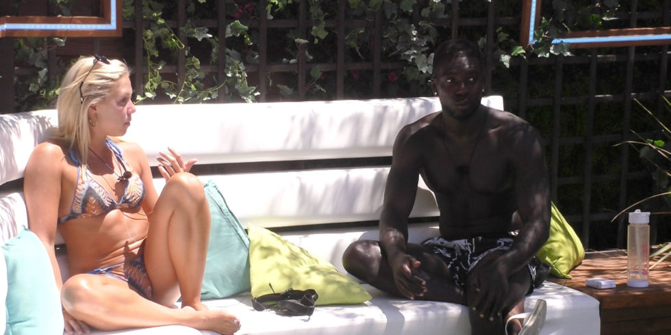 LOVE ISLAND 18/07/2017, Gabby and Marcel