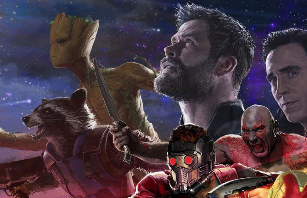 Thor and Guardians of the Galaxy infinity war