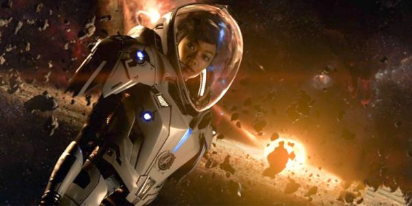 Sonequa Martin-Green in Netflix' Star Trek: Discovery