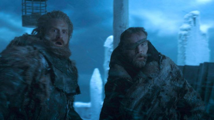 Tormund e Beric em Game of Thrones