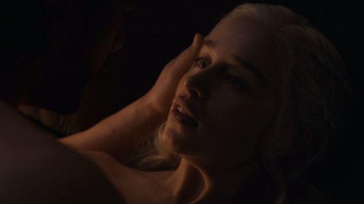 Jon e Daenerys em Game of Thrones