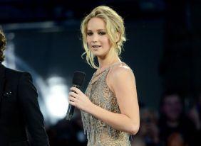 Jennifer Lawrence mãe! pré estreia