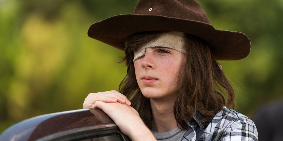 Image result for carl walking dead
