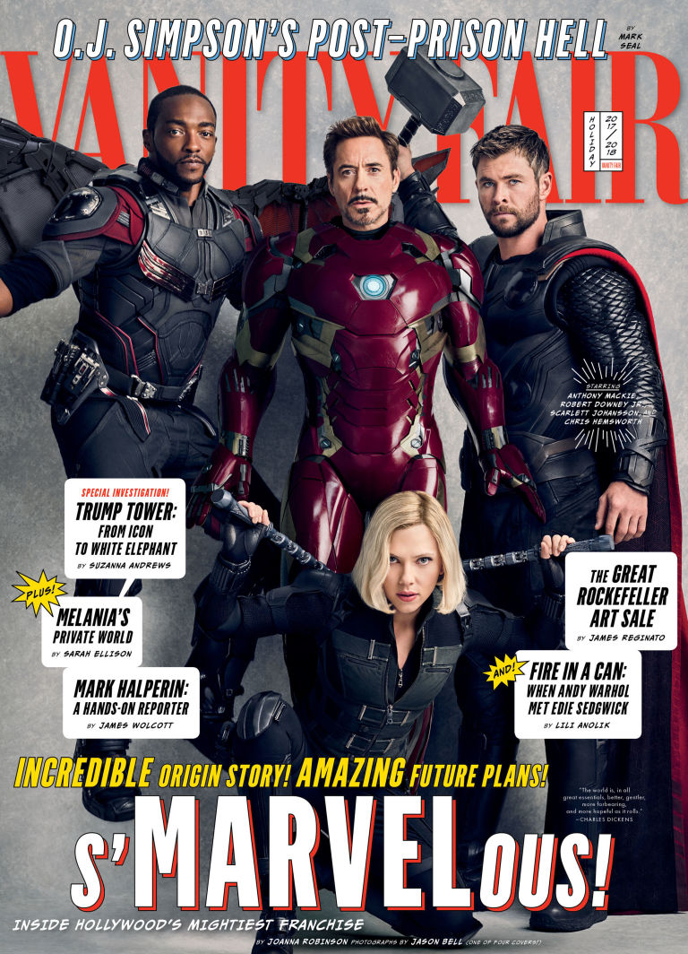 Image result for marvel vanity fair