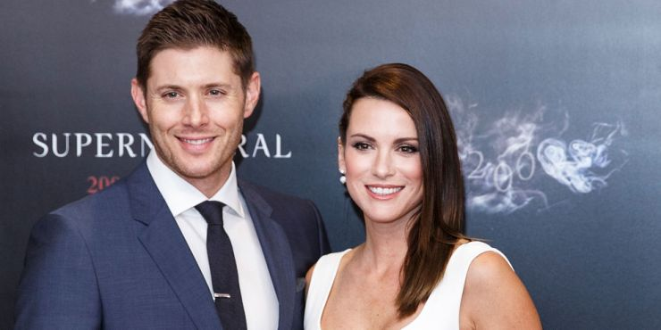 Jensen Ackles e Danneel Ackles na seleção supernatural