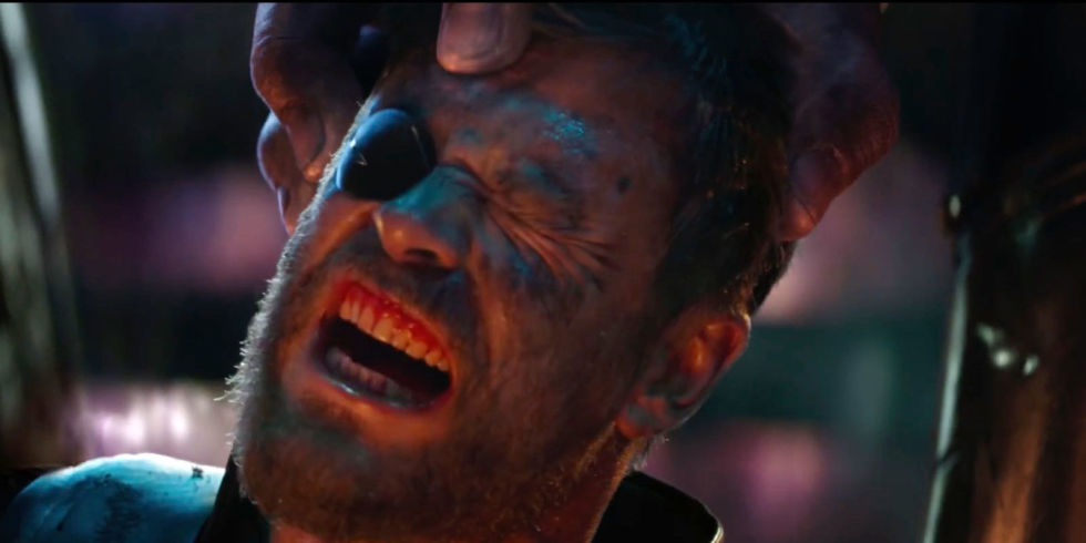 Image result for infinity war thor