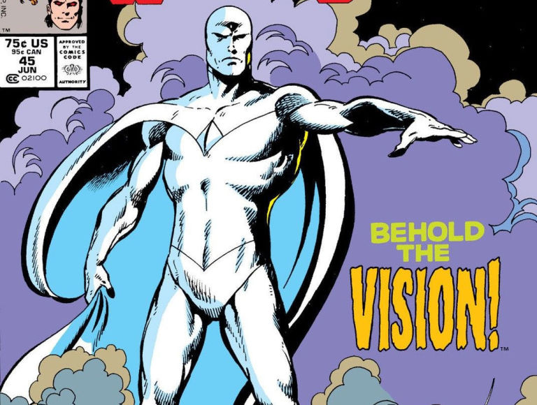 White Vision Marvel