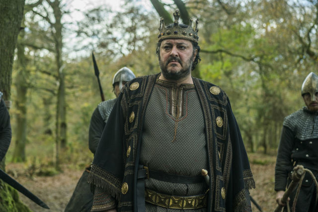 Ivan Kaye as King Aella in Vikings