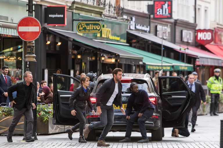 NO REUSE, John Krasinski, Jack Ryan, Filming, Amazon TV Series