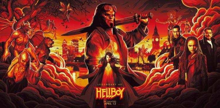 hellboy 2019 ile ilgili görsel sonucu