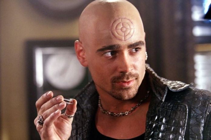 Colin Farrell as Bullseye in Daredevil (2003)