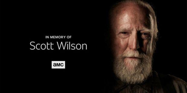 The Walking Dead, Tribute, Scott Wilson