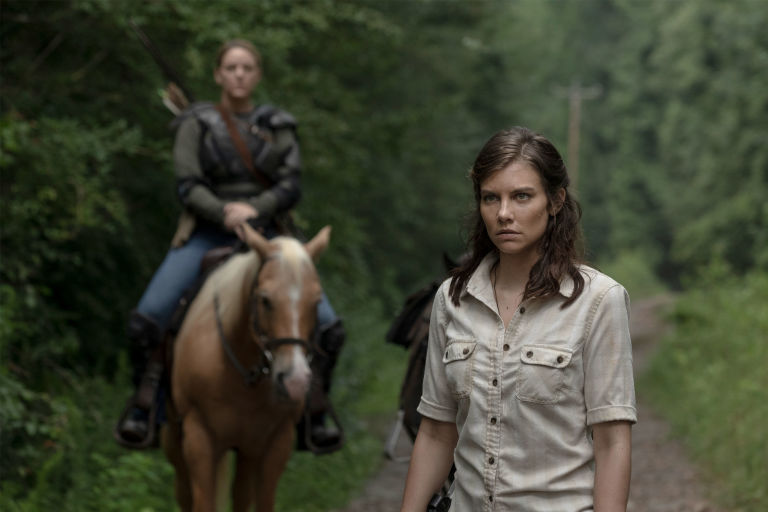 Image result for maggie and dianne the walking dead