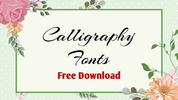 free calligraphy font