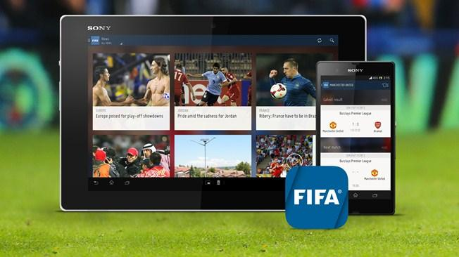 Official football app for iOS and Android launched by FIFA