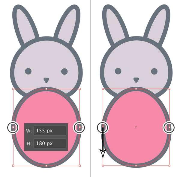 Langkah 6-easter-bunny-egg
