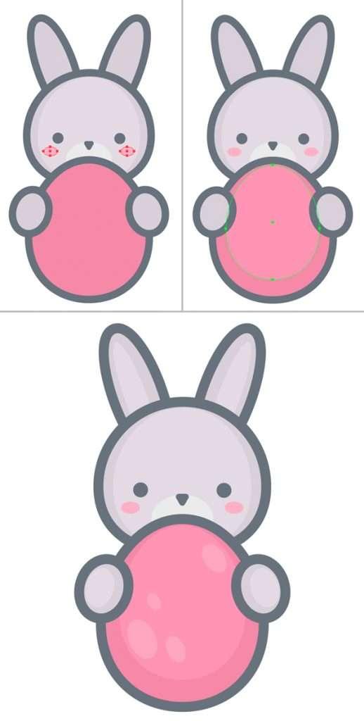 Langkah 9-easter-bunny-egg