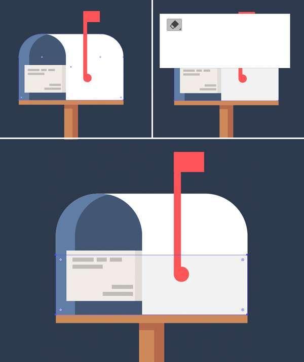 Tutorial Icon Flat Design Kotak Surat di Adobe Illustrator 10
