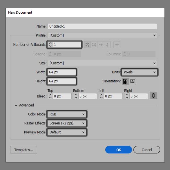 Tutorial Membuat Ikon Flat Design Energi Alam di Adobe Illustrator 01