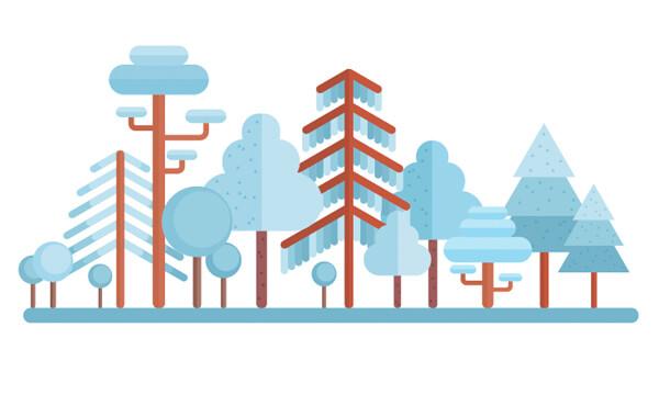 Tutorial Membuat Flat Design Musim Dingin di Adobe Illustrator CC 23