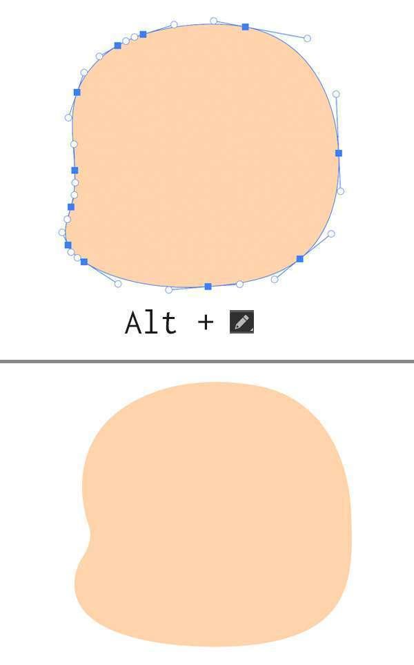 Tutorial Membuat Ikon Anak Kecil di Adobe Illustrator CC 02