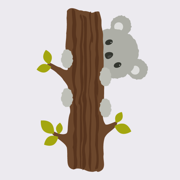 Tutorial Membuat Ilustrasi Koala di Adobe Illustrator CC