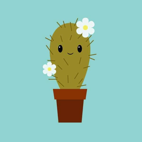 Tutorial Membuat Karakter Kaktus Lucu di Adobe Illustrator CC