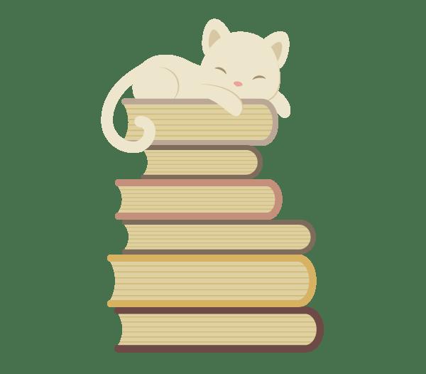 Tutorial Membuat Karakter Kucing dan Tumpukan Buku di Adobe Illustrator CC 21