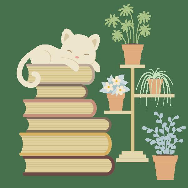 Tutorial Membuat Karakter Kucing dan Tumpukan Buku di Adobe Illustrator CC 34