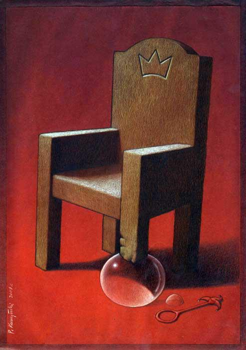 Thought Provoking Paintings By Pawel Kuczynski 12