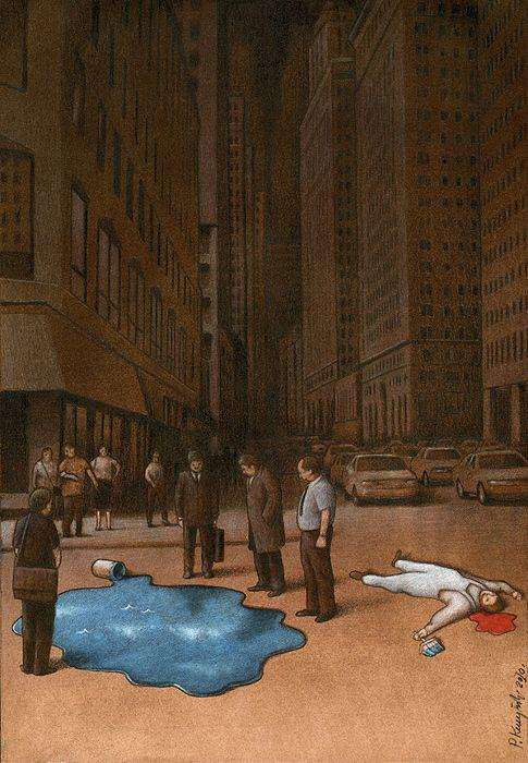 Thought Provoking Paintings By Pawel Kuczynski 17
