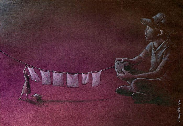 Thought Provoking Paintings By Pawel Kuczynski 34