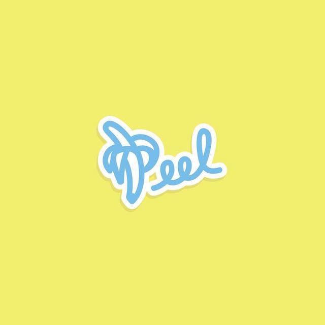 Clever Typographic Logos - Peel