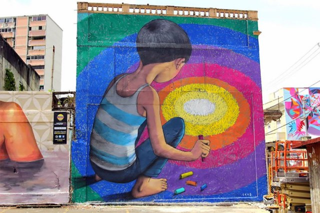 Street art & graffiti by Seth Globepainter (Julien Malland) - 14
