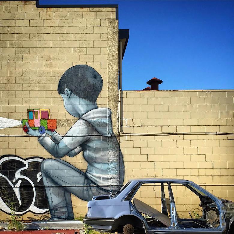 Street Artist Transforms Boring Buildings Around The World