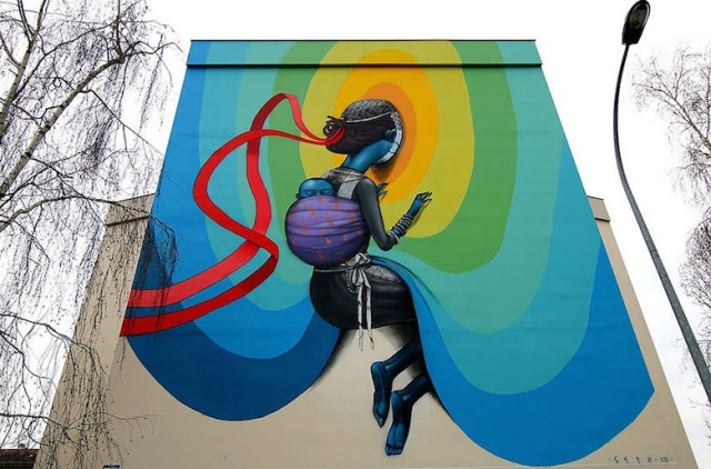 Street art & graffiti by Seth Globepainter (Julien Malland) - 25
