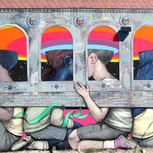 Street art & graffiti by Seth Globepainter (Julien Malland) - 31