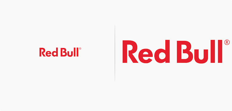 Famous logos affected by their products - Red Bull
