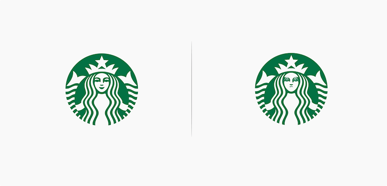 Famous logos affected by their products - Starbucks
